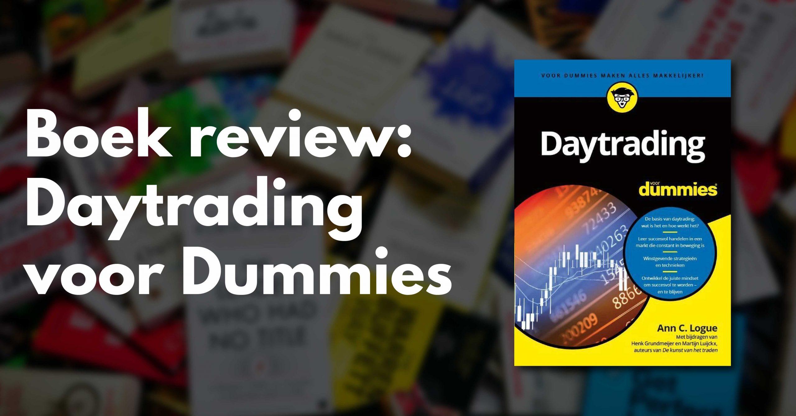 Daytrading voor dummies review en ervaringen